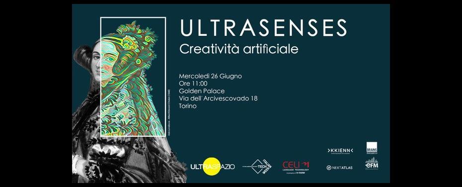 Evento: ULTRASENSES - Creatività artificiale