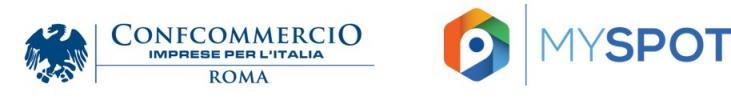 Logo Confcommercio, Logo Myspot